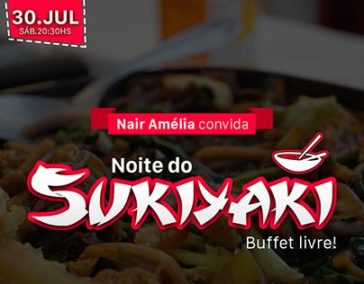 Noite do Sukiaki - Rotary Clube Foz do Iguaçu
