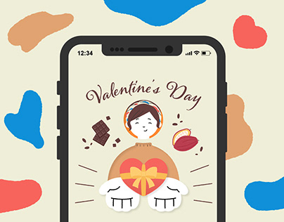 Animated Gift Card for Valentine's Day