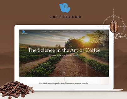 Coffee Website UI/UX Design