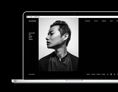 Klekko. Visual identity and web design