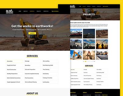 Construction & Building PSD Template