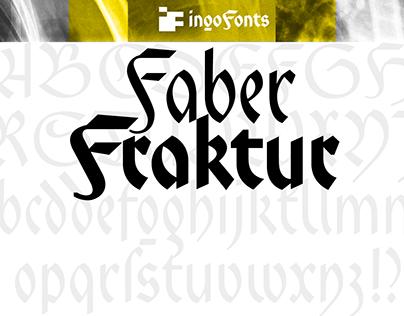 Faber Fraktur - a »modern« blackletter