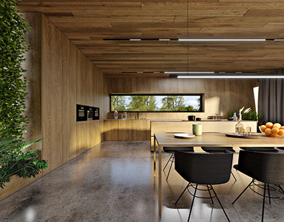 Oak-covered house / 342m² / Poland