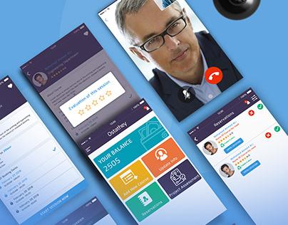 Education App :: UX UI Design