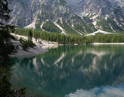 Lake of Braies UNESCO heritage
