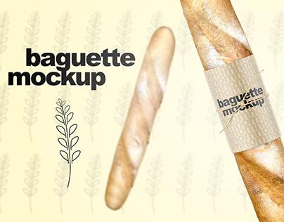 Baguette Mockup