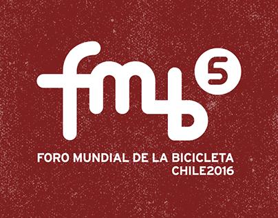 Trabajos para el 5° Foro Mundial de la Bicicleta, Chile