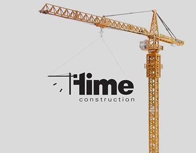 Time Construction Logo Presentation