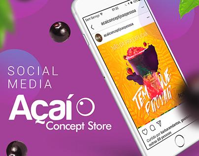 Social Media | Açaí Concept