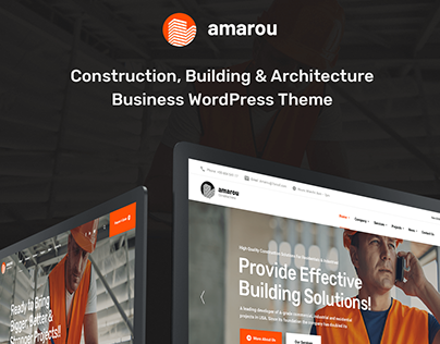 Amarou - Construction & Building WordPress Theme