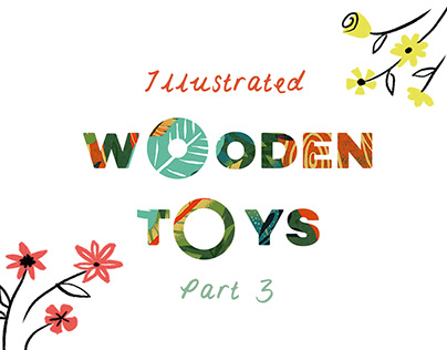 Illustrated Wooden Toys 3