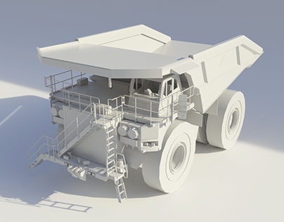 Mining Vehicles / Truck - 3D Modeling