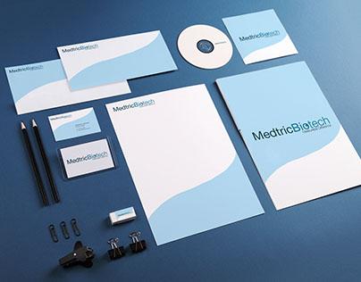 Medtric Biotech Logo and Branding