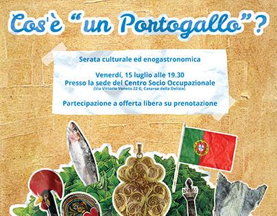 """Cos'è """"un Portogallo""""? - event poster"""