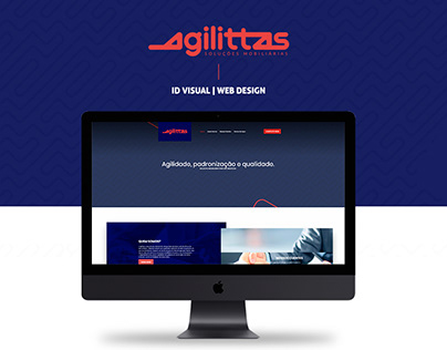 Agilittas - ID Visual e Web Design