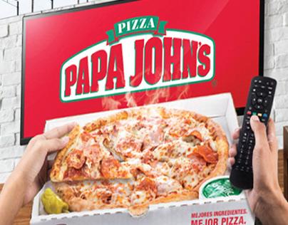 Papa Johns - Ads 2018-2019