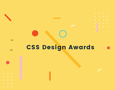 CSS Design Awards / Woty
