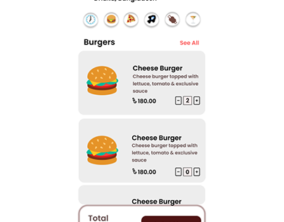 Online Food Delivery App UI/UX