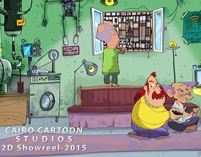 CairoCartoon 2D Reel-2015