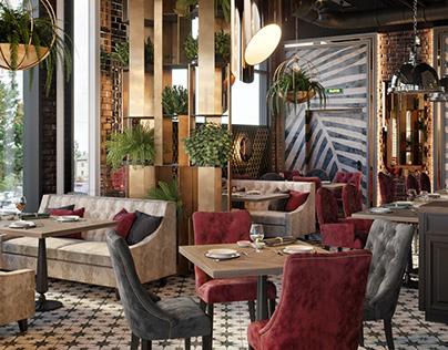 BAHROMA interior design project in MFC Perron