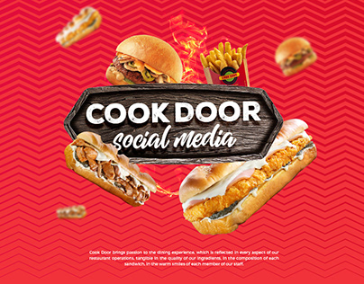 COOK DOOR UAE I Social Media Visuals