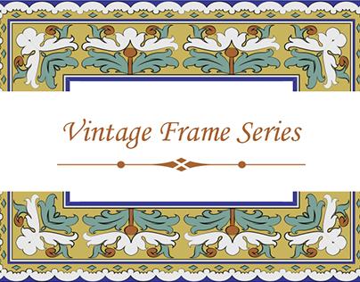Vintage Frame Design for Shutterstock