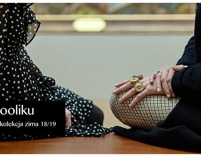 lookbook for ooliku's winter collection 18/19