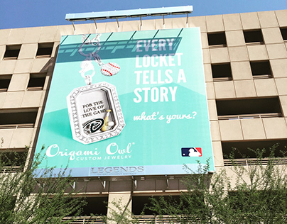 Origami Owl Baseball Season Billboard