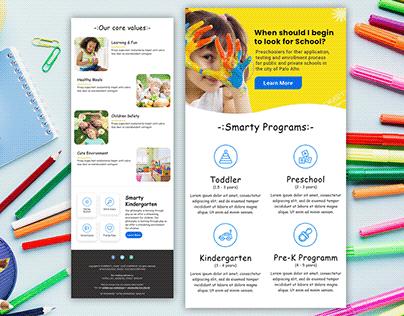 Brand Matching Mailchimp Newsletter Email Design