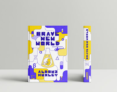 1984 & Brave New World Cover Redesign