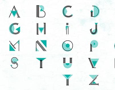 Shaped Alphabet Animation