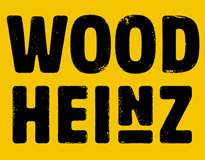 Wood Heinz No.4 & No.2, from old wood type to fonts