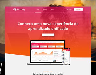fluig Learning •website