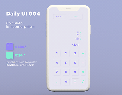 Daily UI 004 Calculator