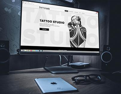 Tattoo studio web desigh