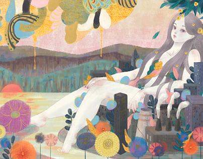 Mural Illustration