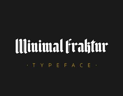 Minimal Fraktur | Typeface