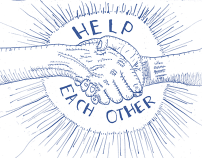 Help Each Other - Handshake