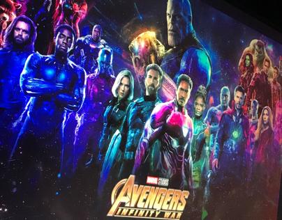 Avengers Infinity War Fan Poster On Behance