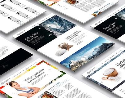 Saltstraumen Norway - Web Design