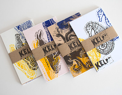 _KELP - Postcards & Notebooks // University Project