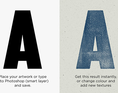 Letterpress Print Kit by Design Assets