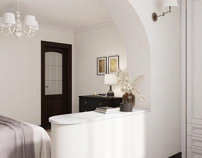 Комплектация спальни с готовым ремонтом