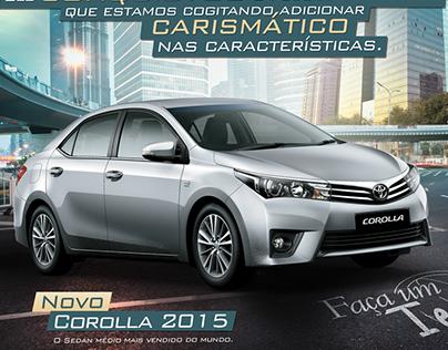 Anúncio Corolla - Saga Motors