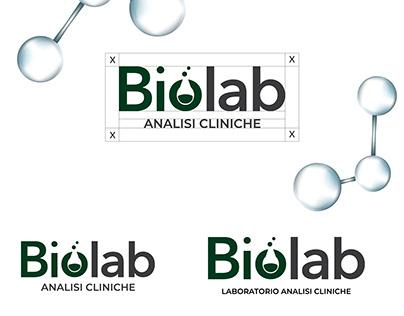 Biolab - Analisi Cliniche   Progettazione Logo