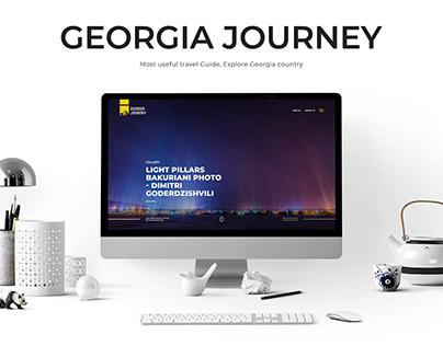 Georgia Journey - Travel Website Design