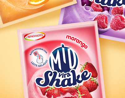 MID® Vira Shake | Powdered Juice Packaging