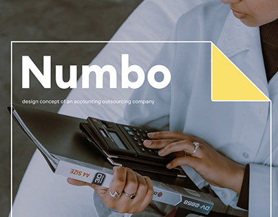 Numbo — concept of an accounting outsourcing company