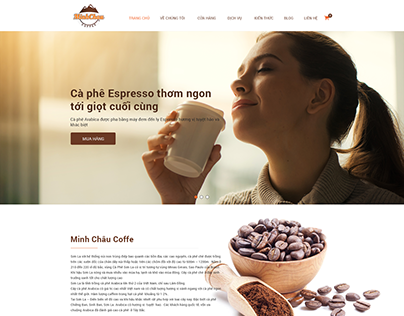 Redesign website Sonlacoffe.com