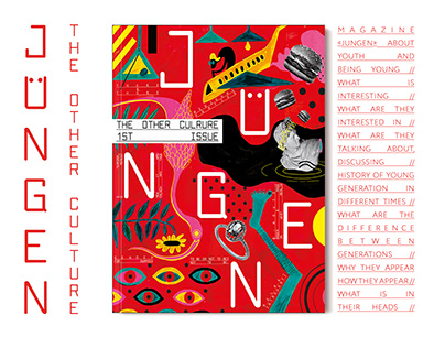 JUNGEN. The other culture MagaZine
